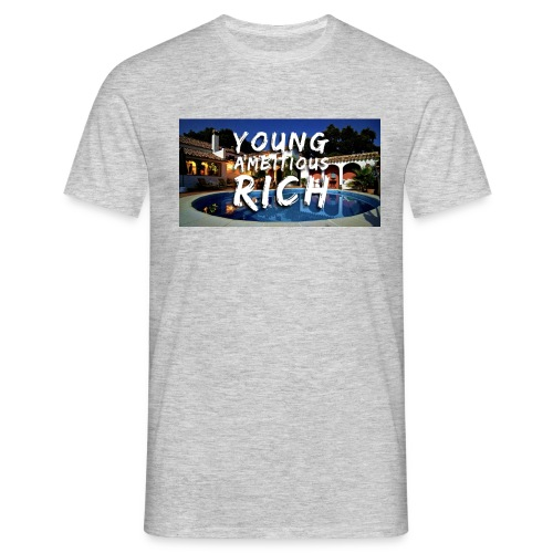 YOUNG, AMBITIOUS, YOUNG - Men's T-Shirt