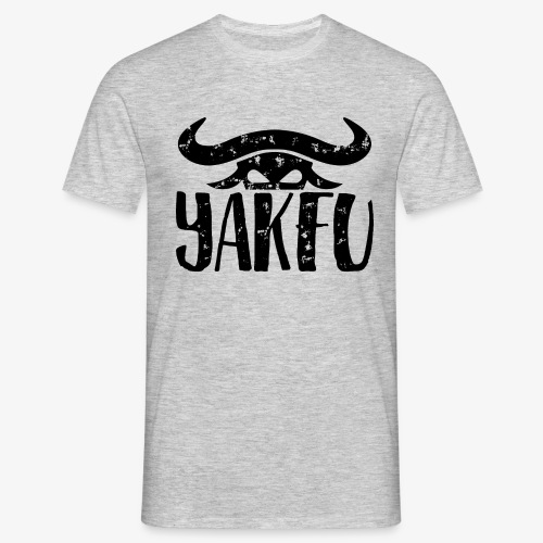 YakFu (Black) - Männer T-Shirt