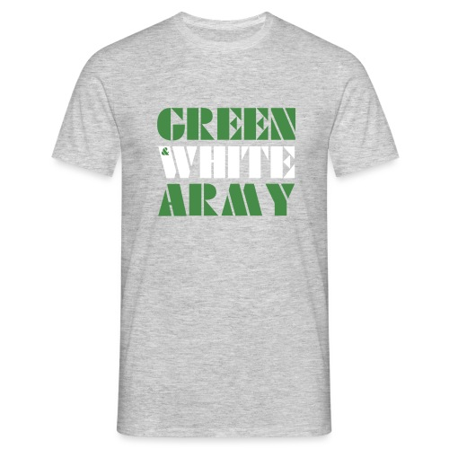 GREEN & WHITE ARMY - Men's T-Shirt