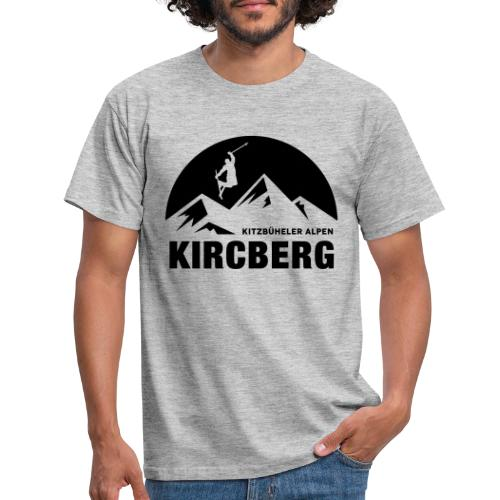 Summit skiline Kirchberg - Mannen T-shirt