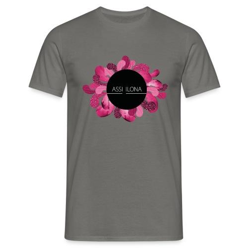 Naisten t-paita punaisella logolla - Miesten t-paita