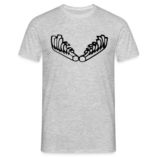 Kiehiset_logo-musta - Miesten t-paita