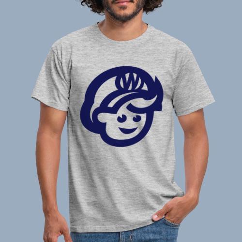 logo bb spreadshirt bb kopfonly - Men's T-Shirt