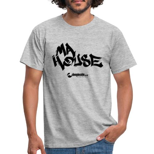 My House * by DEEPINSIDE - Men's T-Shirt