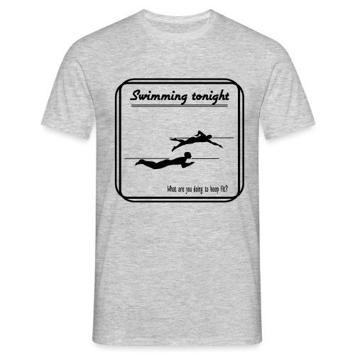 Swimming tonight - Miesten t-paita