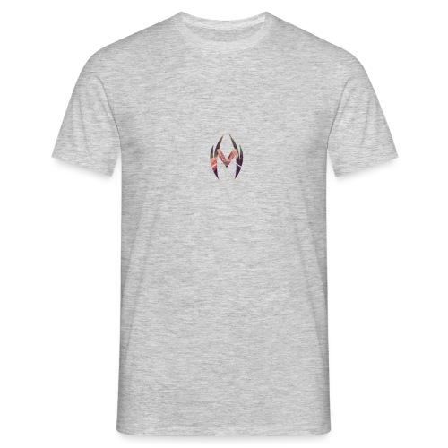 MRVL Flower Design - Men's T-Shirt