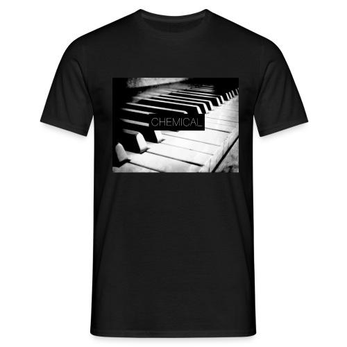 Piano black&White - Maglietta da uomo