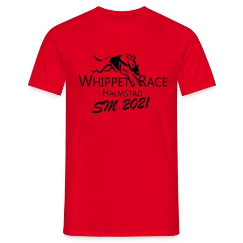 whippetrace sm2021svart - T-shirt herr