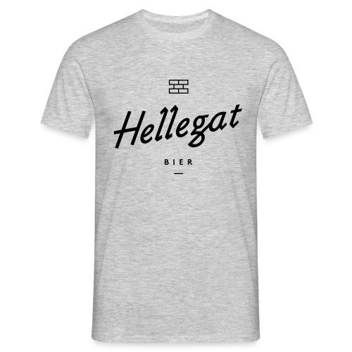 hellegatzonderschaduw bier zwart - Mannen T-shirt