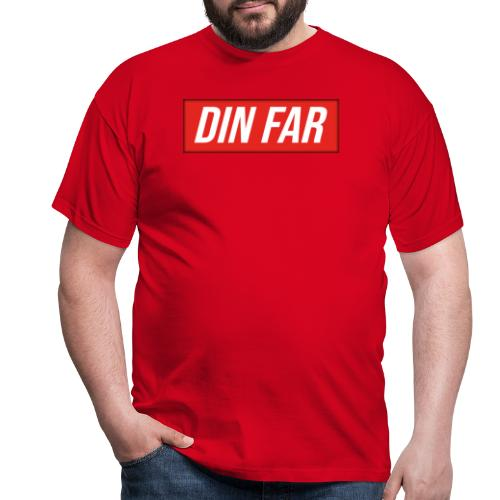 DIN FAR - Herre-T-shirt