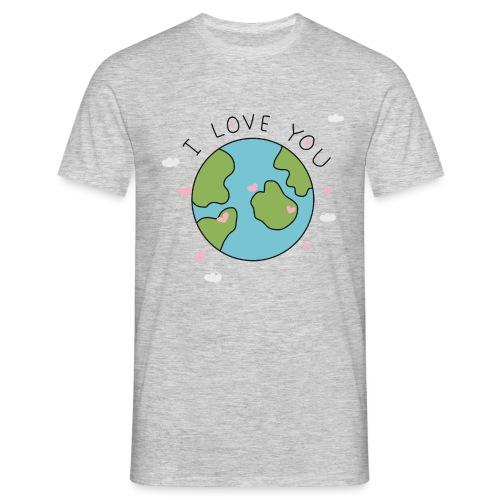 iloveyou - Maglietta da uomo