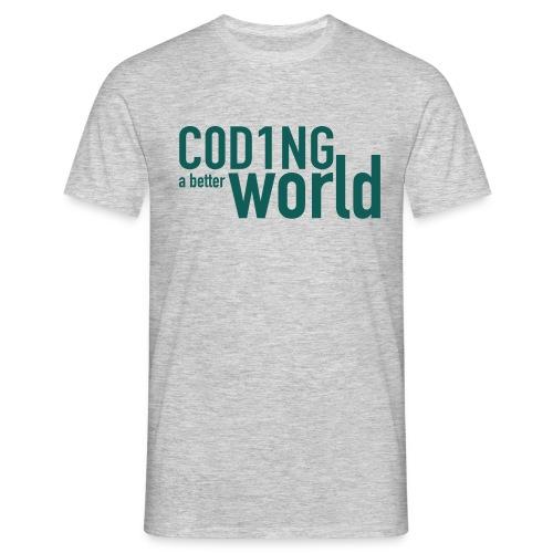 C0D1ING2 - Mannen T-shirt