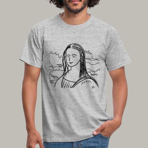 Little piece of Mona Lisa - T-shirt Homme