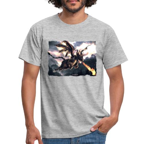 Canis Draconi Terrier - Fireball - Mannen T-shirt
