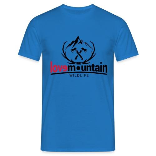Mountain - Maglietta da uomo