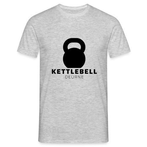 Kettlebell Deurne Logo Zwart - Mannen T-shirt