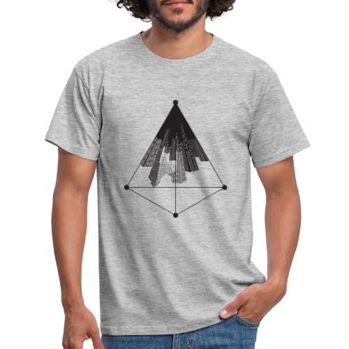 Ville triangle - T-shirt Homme