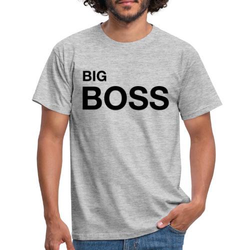 big boss 01 - Männer T-Shirt