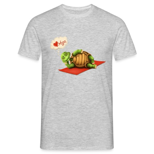 Love-Yoga Turtle - Männer T-Shirt