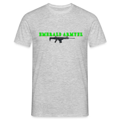 EMERALDARMYNL LETTERS! - Mannen T-shirt
