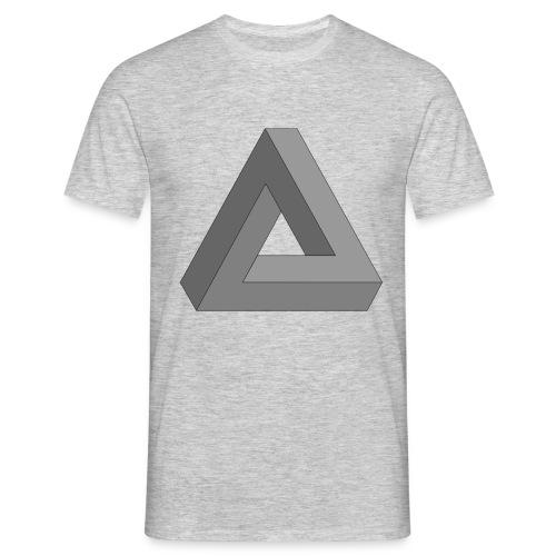 Unmögliches Dreieck - Männer T-Shirt