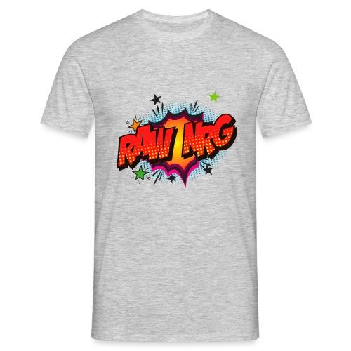 Raw Nrg comic3 - Men's T-Shirt