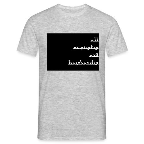 All rac. - T-shirt Homme