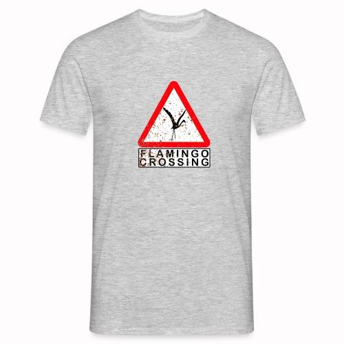flamingo crossing - Männer T-Shirt