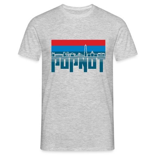 Sander donker patrs - Mannen T-shirt