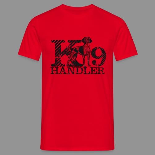 K-9 Handler - German Shorthaired Pointer - Men's T-Shirt
