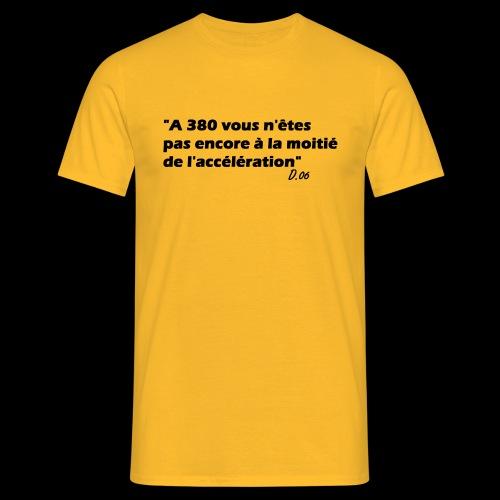 380 noir - T-shirt Homme
