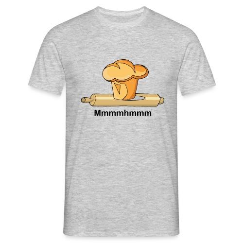 Brioche française et rouleau à patisserie - T-shirt Homme