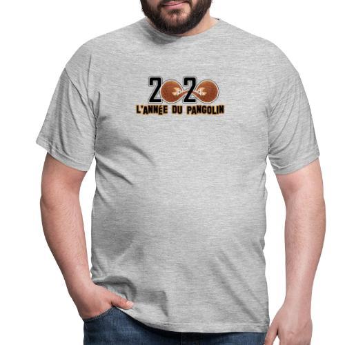 2020, année du pangolin - T-shirt Homme