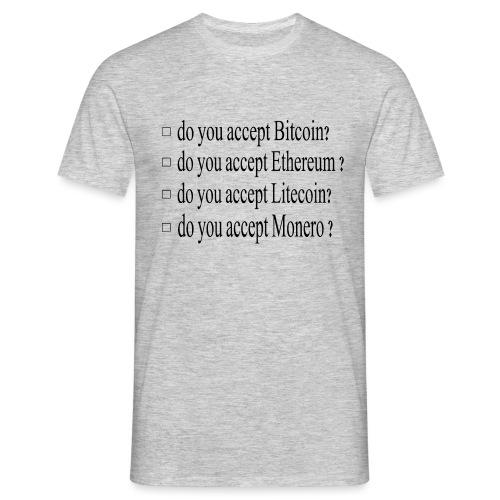 accepter - T-shirt Homme