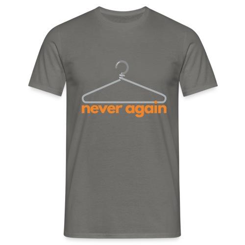 NeverAgain 1 - Männer T-Shirt