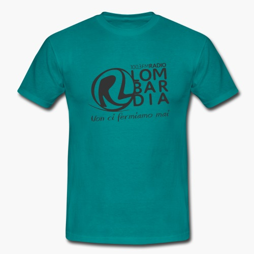 Uomo - Maglietta - Logo Nero - Maglietta da uomo