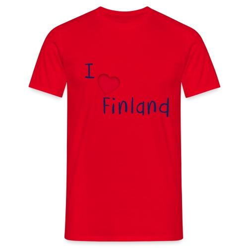 I Love Finland - Miesten t-paita