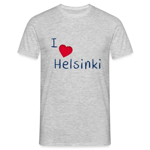 I Love Helsinki - Miesten t-paita