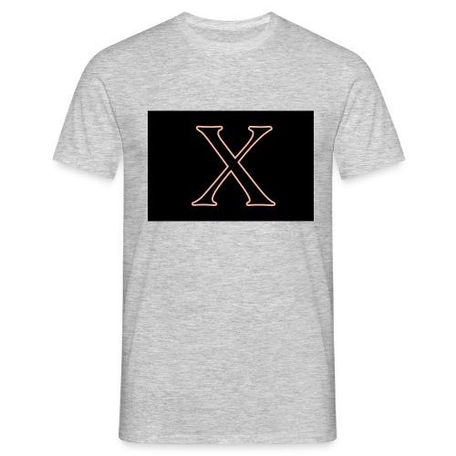 Logo X - T-shirt herr