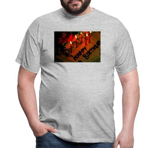 happy Birthday - Men's T-Shirt