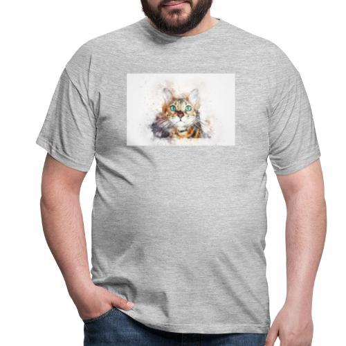 Katzen Design - Männer T-Shirt