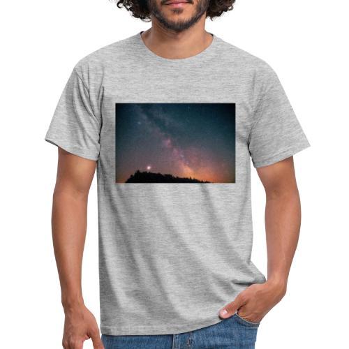 Milchstraße Fotografie Galaktisches Zentrum - Männer T-Shirt