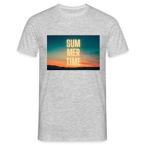 Summer Time - Männer T-Shirt