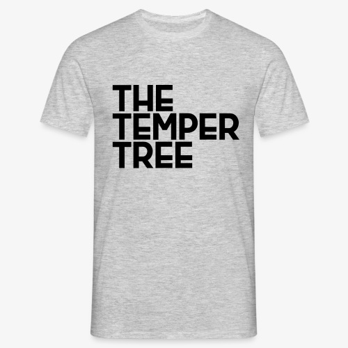 The Temper Tree Schriftzug - Männer T-Shirt
