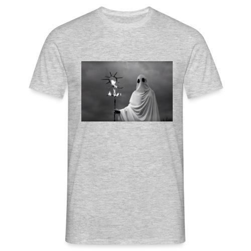 Czarna koszulka aesthetic vintage retro - Koszulka męska