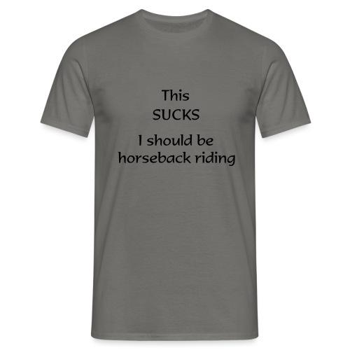sucks - Miesten t-paita