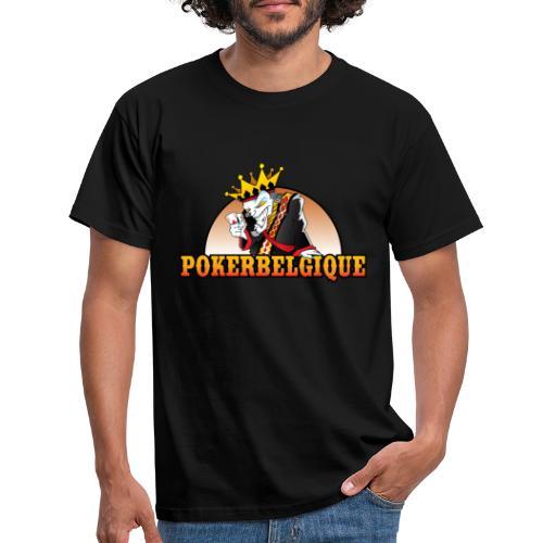 Logo Poker Belgique - T-shirt Homme