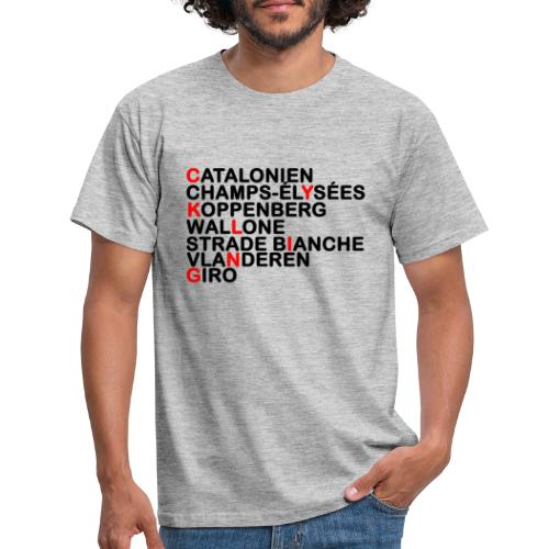 CYKLING - Herre-T-shirt