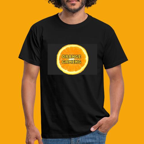 Orange_Logo_Black - Men's T-Shirt