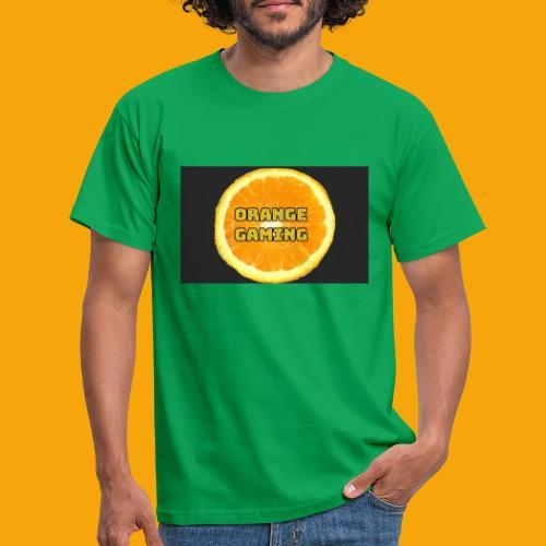 Orange_Logo_Black - Men's T-Shirt